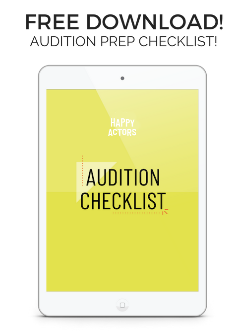 FREE DOWNLOAD! YOURAUDITION PREPCHECKLIST! copy